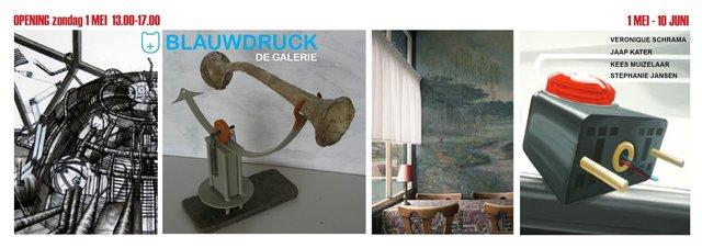 Blauwdruck De Galerie