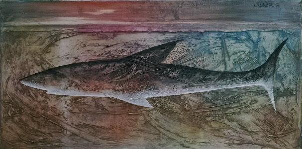 Mare, 60x30 olej płótno 2015