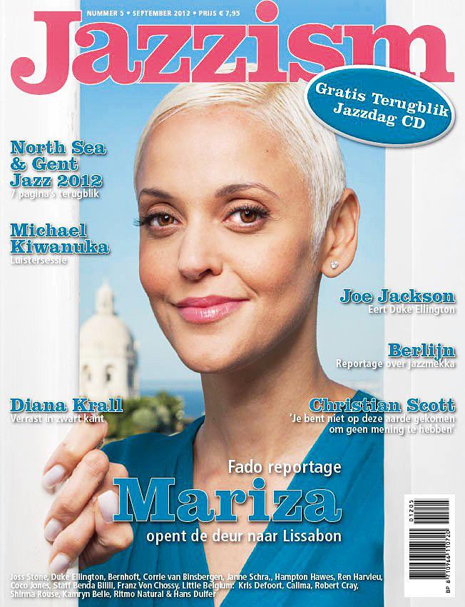 Cover Jazzism, Mariza, fado singer