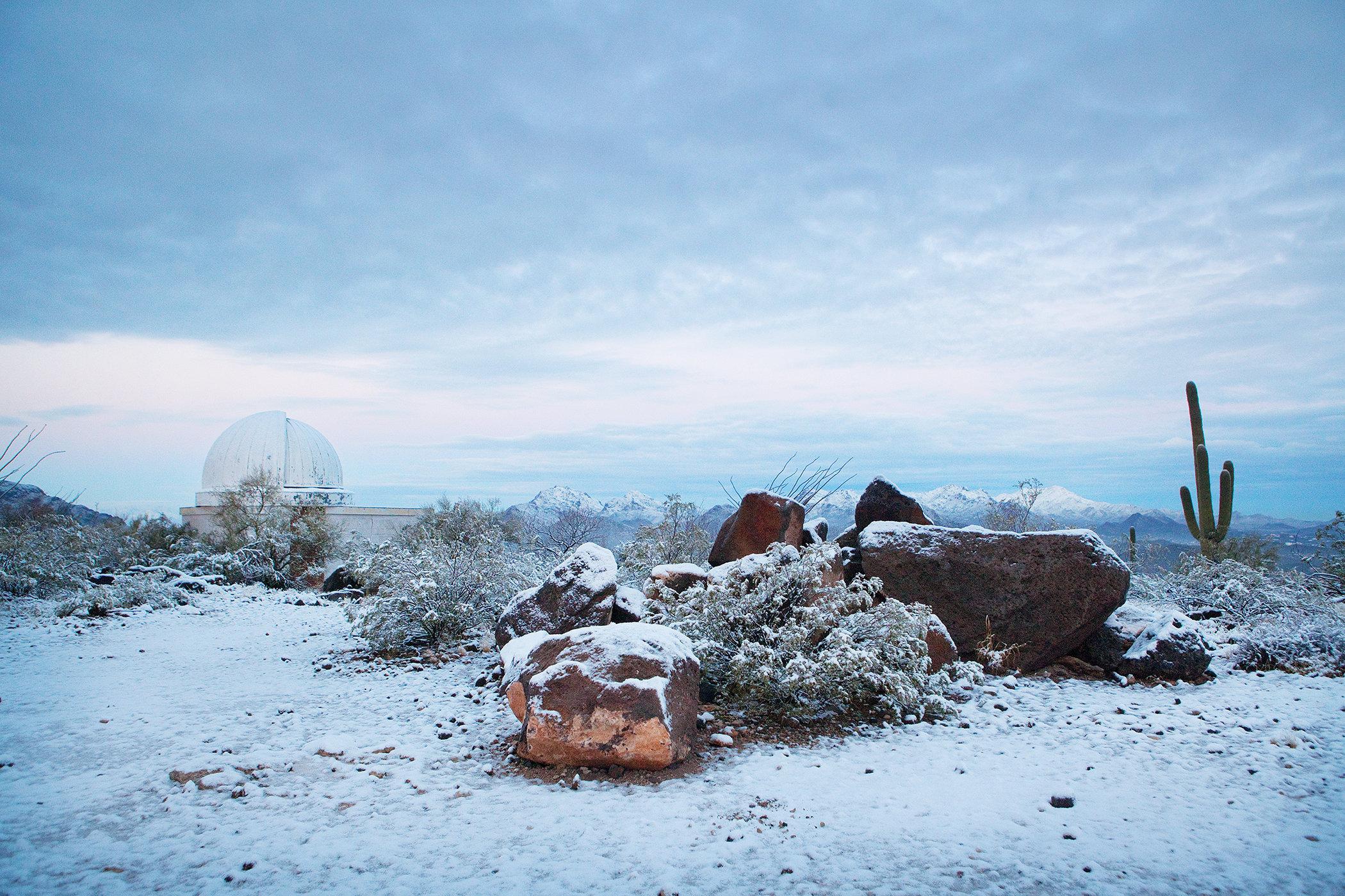 Snowy Tumamoc III
