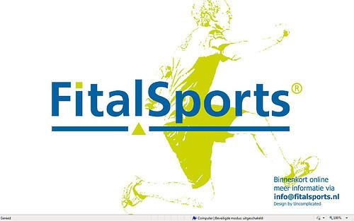 Concept webdeign for Fitalsports