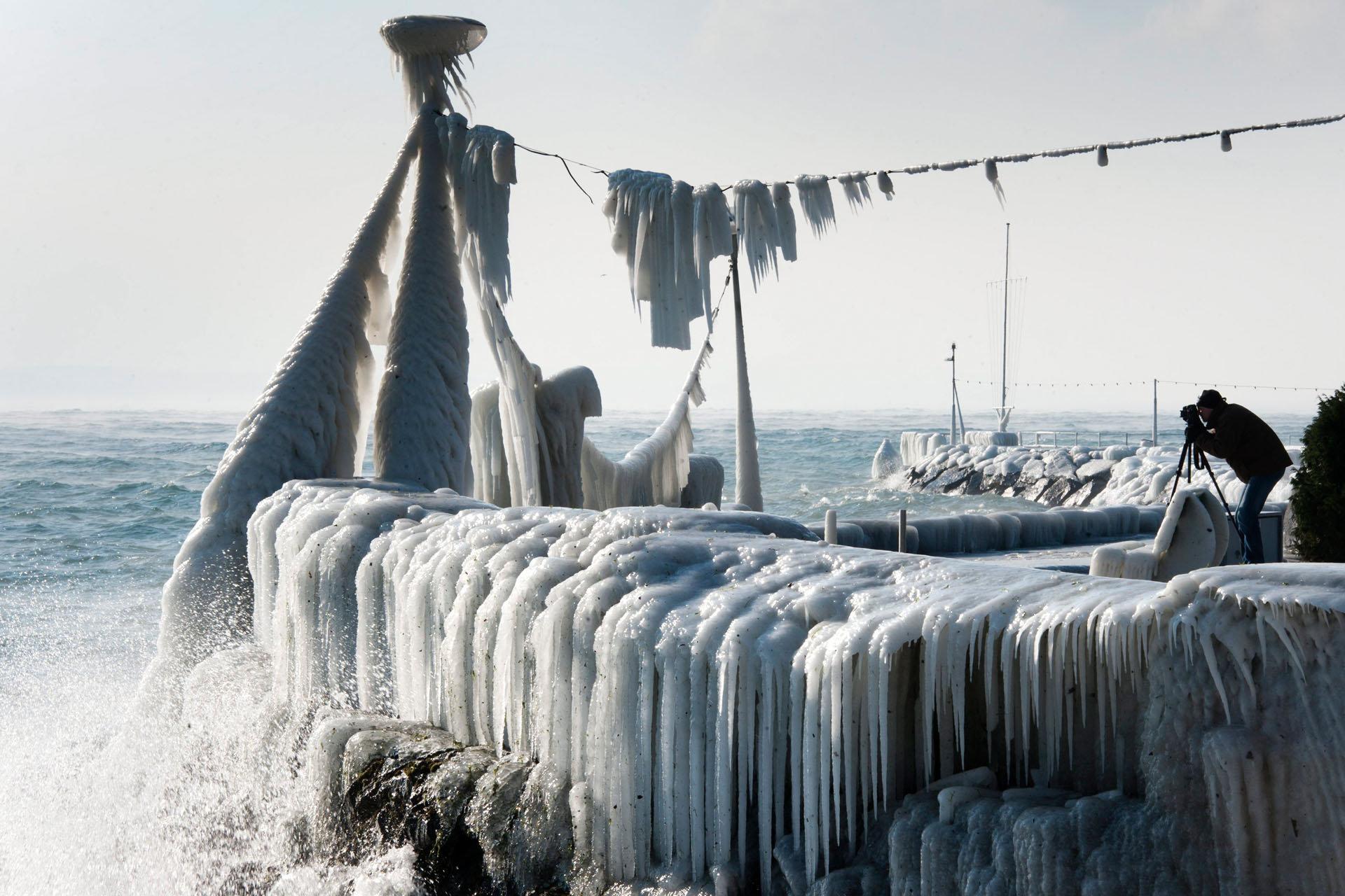 Grand froid - Nyon - 2012