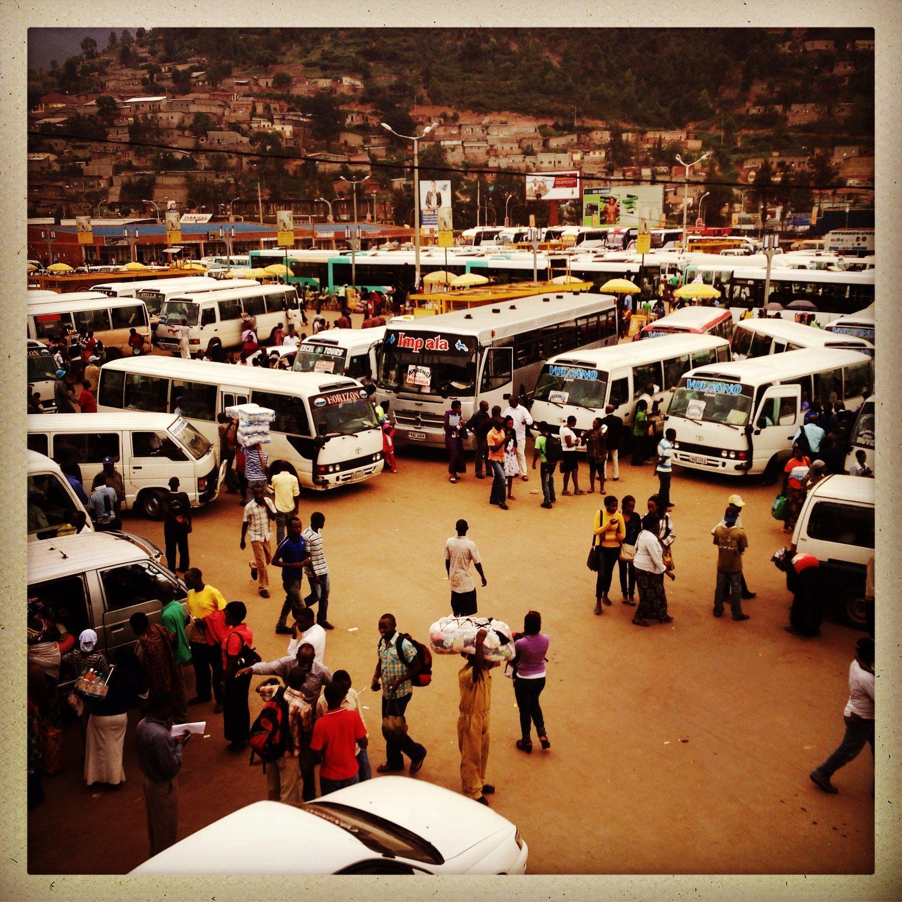 Kigali, bus station