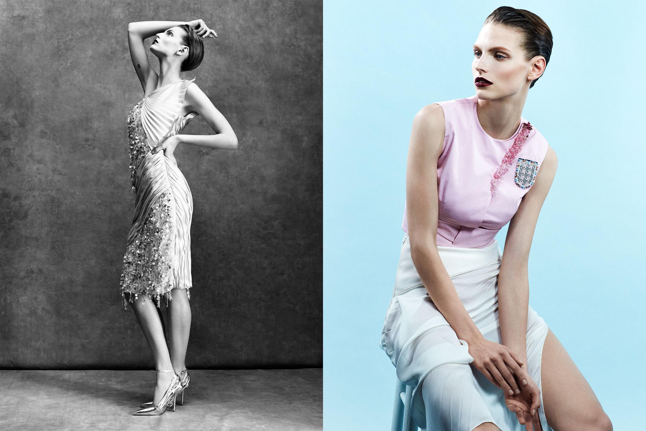 Vogue Spain. Karlina Caune. Christian Dior, April 2014.
