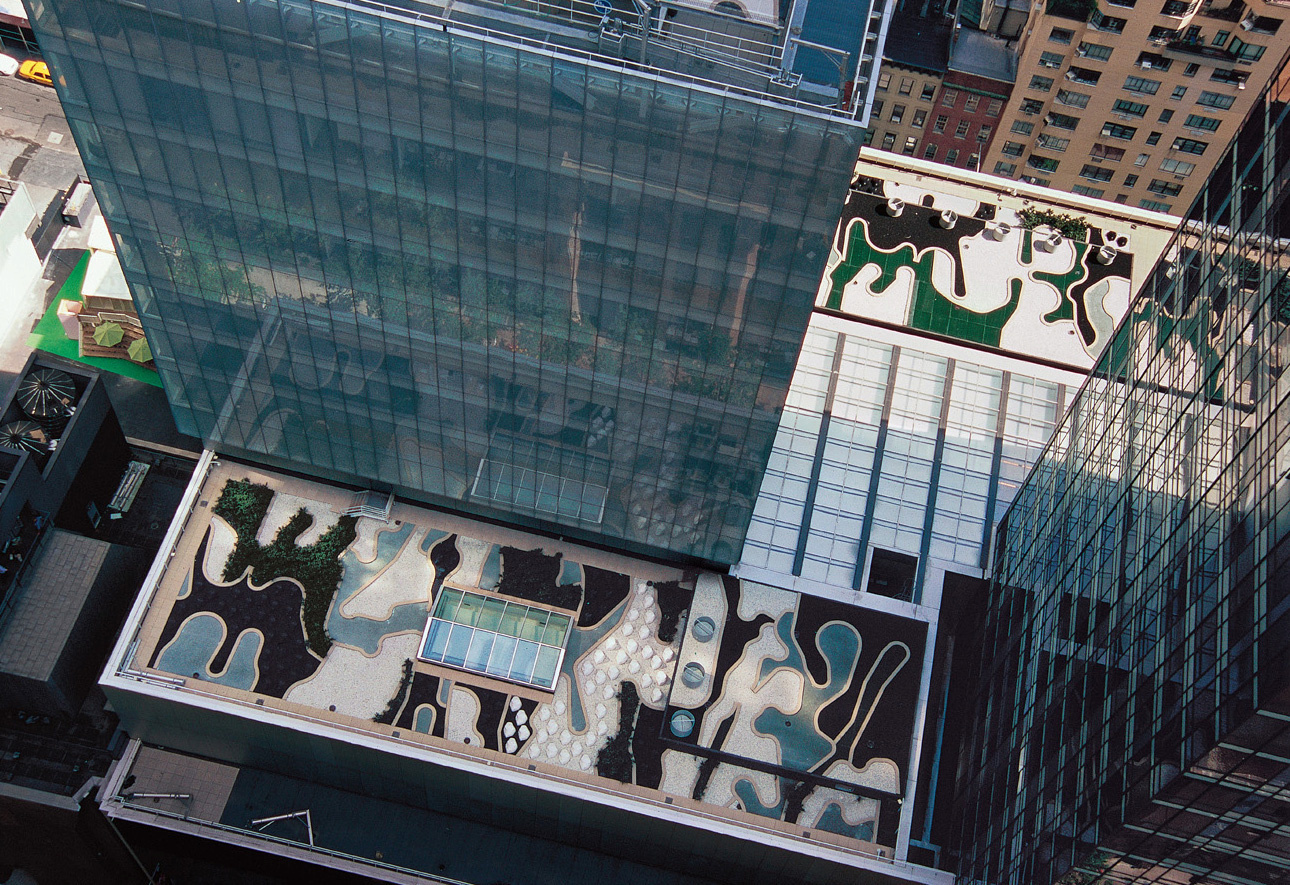 MOMA roof garden, Ken Smith