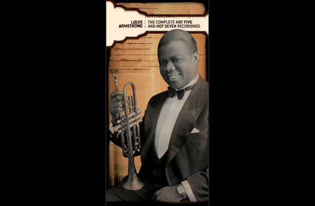 Louis Armstrong. Book / music box set