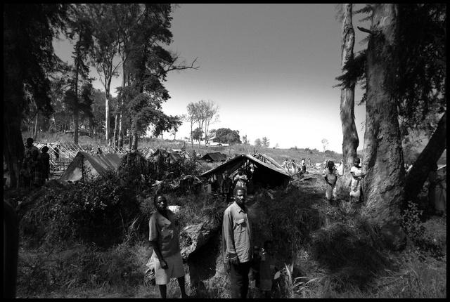Congo - Camp de réfugiés dans la région des grands