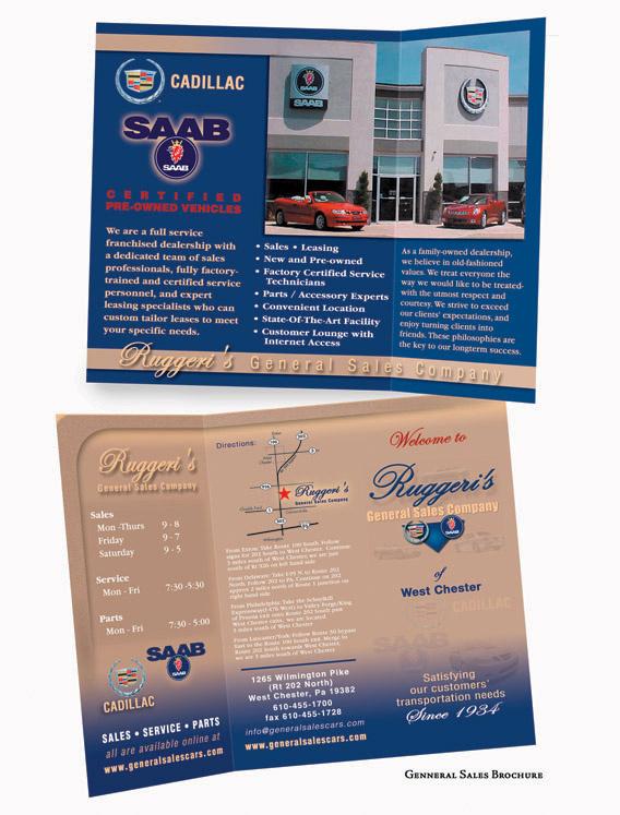 Brochure, 8.5 x 11