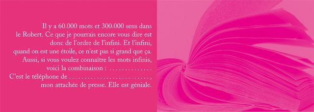 """<font color=""""#aaa7a6"""">Livre de créateur (10/11).</font>"""