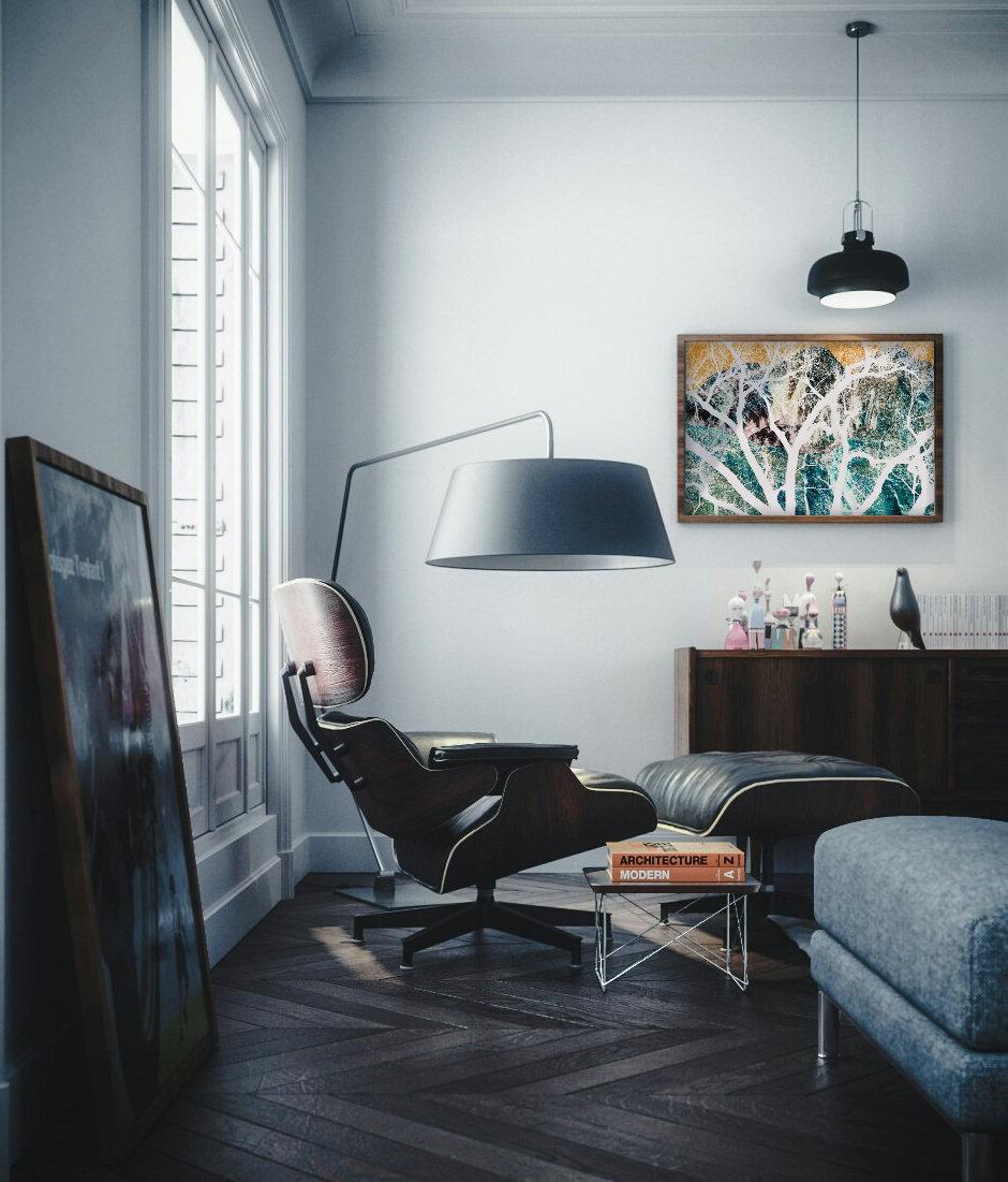 "Sitting room/ Tribeca 30x45"" Zion series"