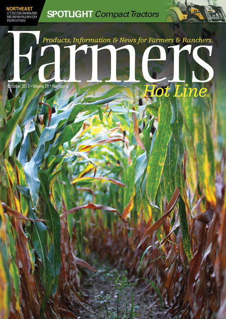 Farmers Hot Line Magazine; © October 2013