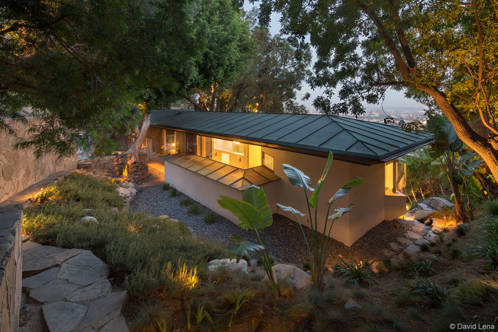The Wolff House by John Lautner FAIA