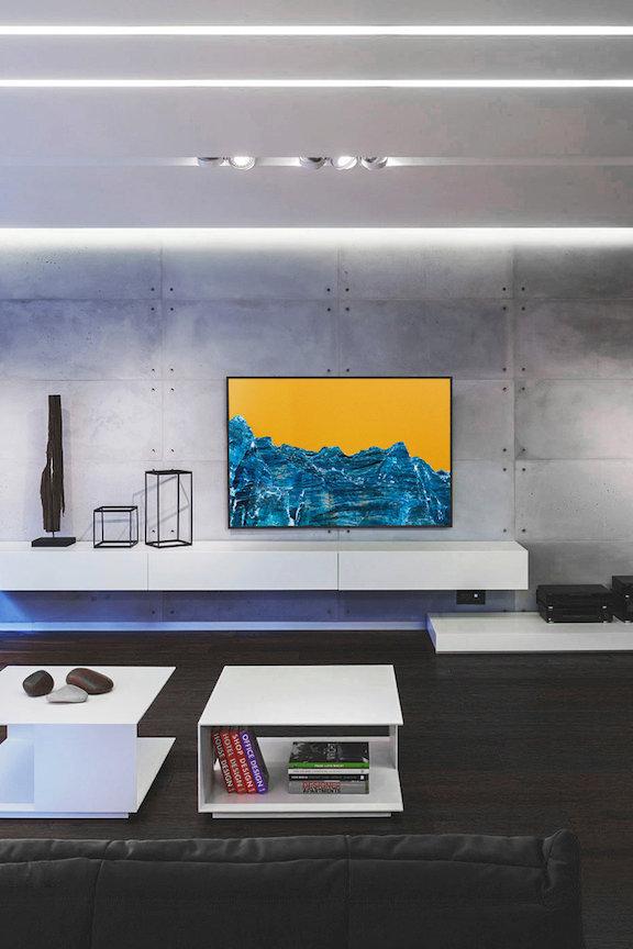"Zion print 40x60"" print Paris apartment"