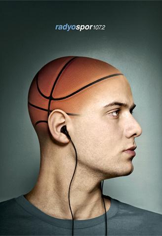 Radyospor - Basketball Press Ads