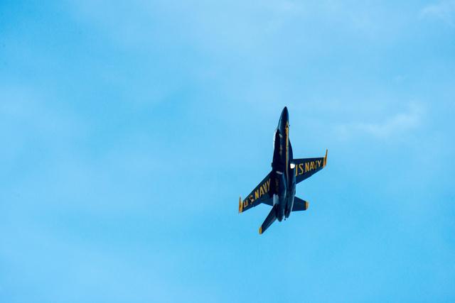 Blue Angel F/A-18 Hornet