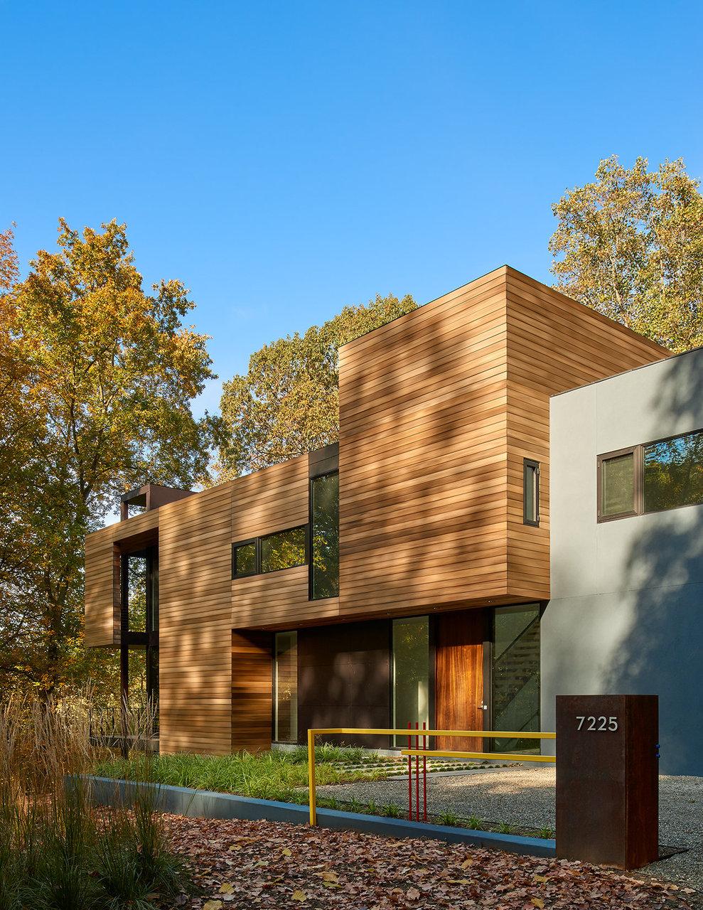 Robert gurney architect - Pavillon residentiel moderne gurney architecte ...