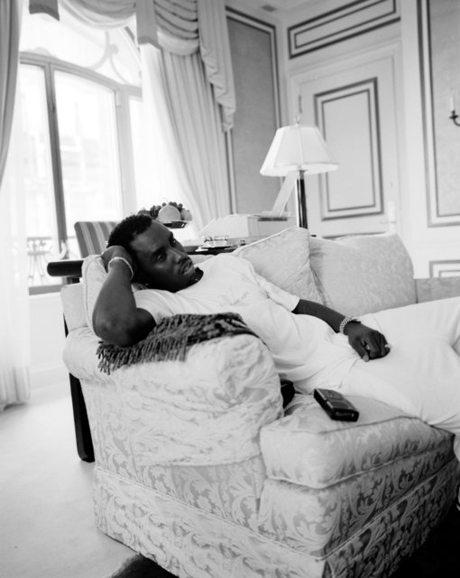 Diddy at the St. Regis