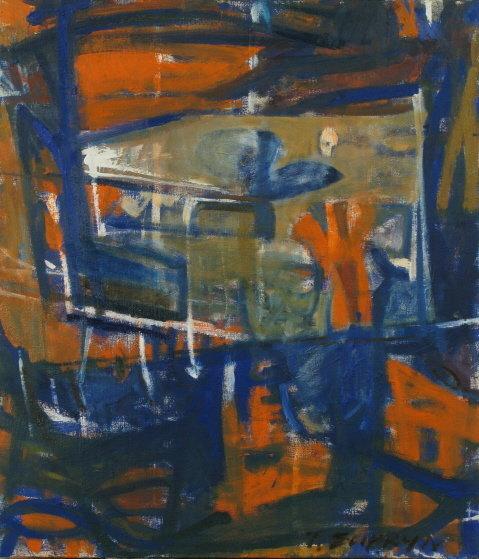 Abstrakcja4 120x80 olej płótno