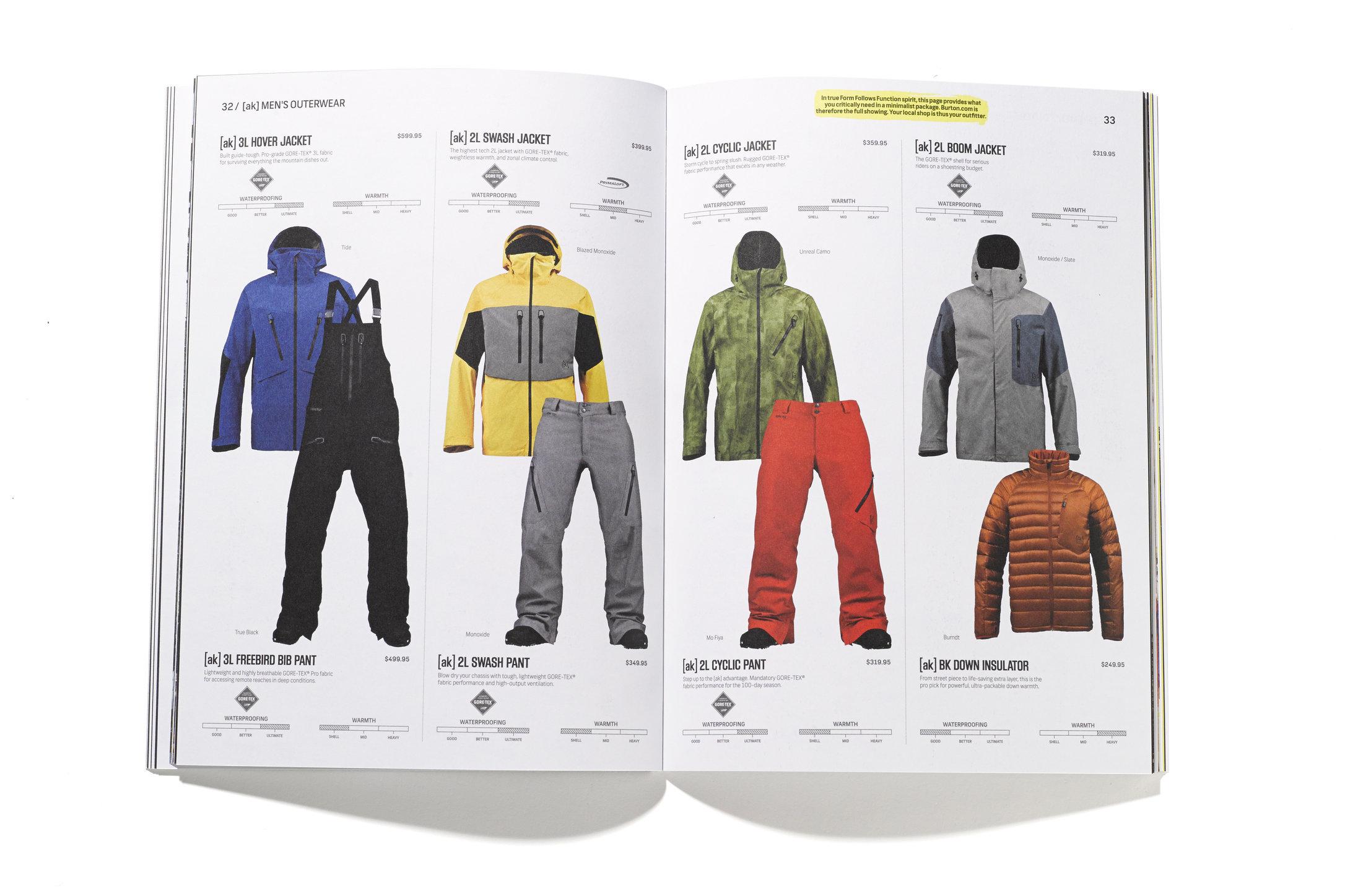 Burton Snowboards: Consumer catalog