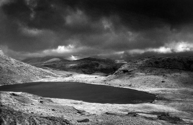 Llyn Llydaw, massif du Snowdon,pays de Galles,2002.