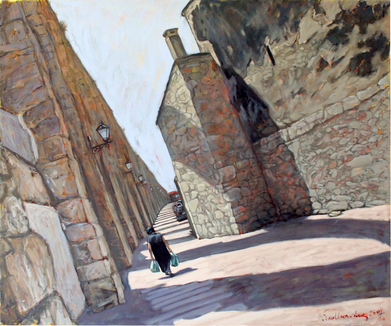 Vila do Conde II, 120x100 olej płótno 2007