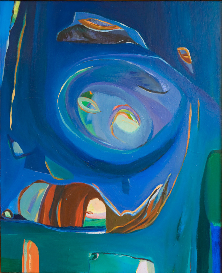 "The Life Cycle, 1992, Oil on Canvas, 48""x40"""
