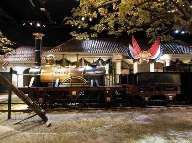 utrecht - spoorwegmuseum stoomlocomotief de arend