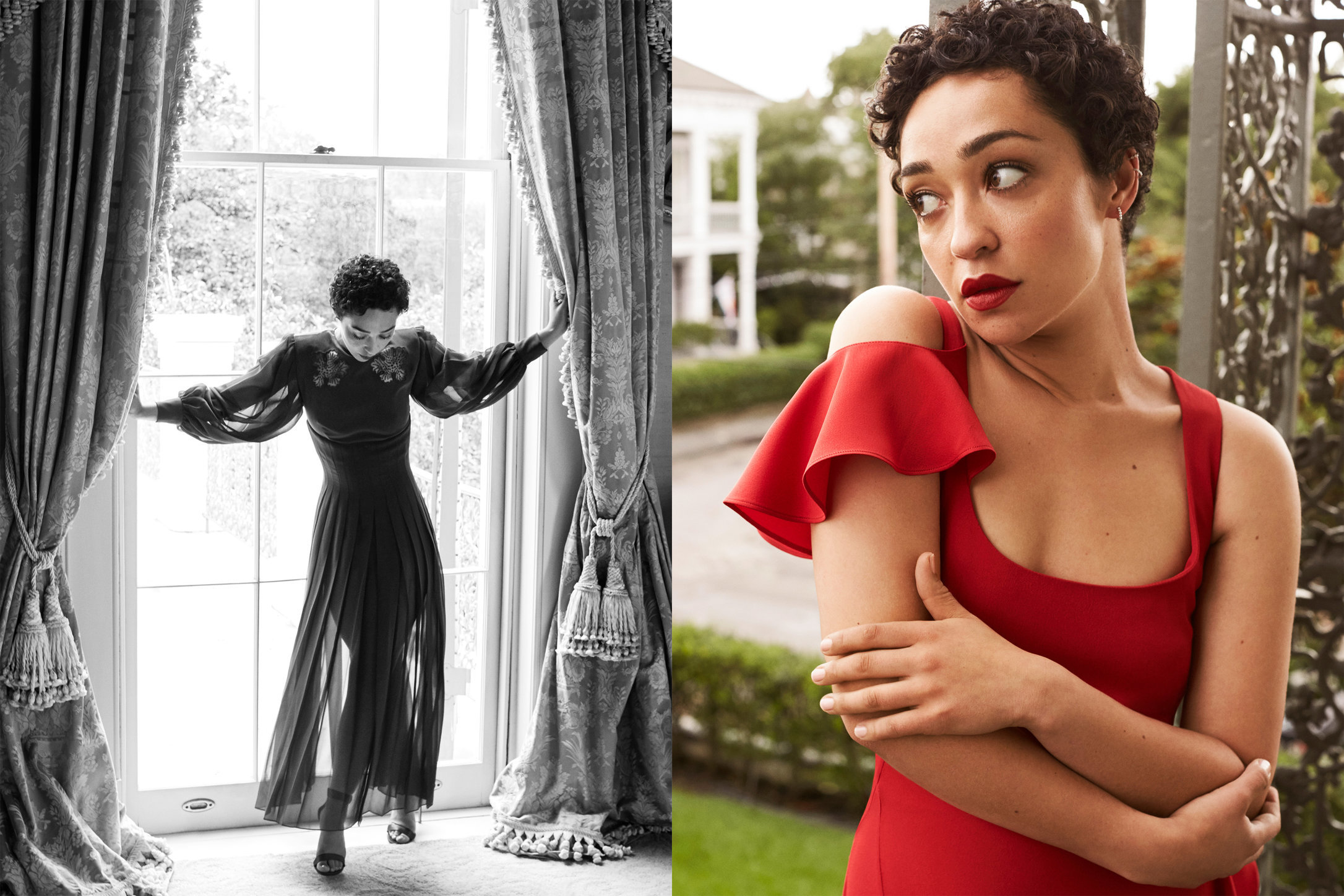 Town & Country. ruth Negga. August, 2017.