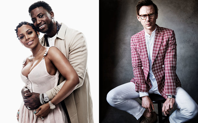GQ US. Style Portfolio. Gucci Mane, Keyshia Ka'Oir and Jimmi Simpson. March, 2017.