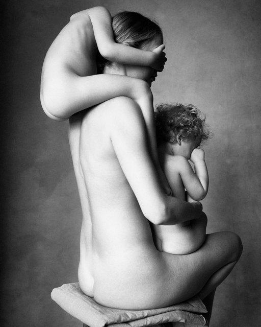 Nude Family #2. New York, 2021.