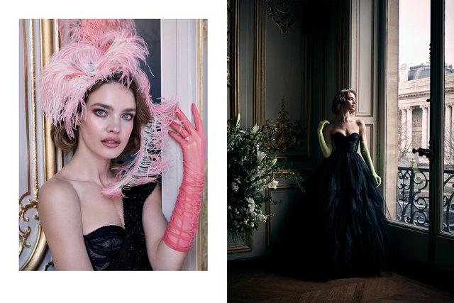 Natalia Vodianova. Dior. Hotel Marois Paris, 2019.