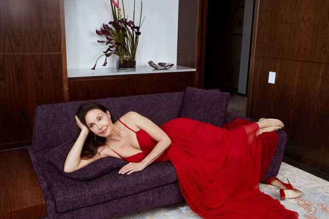 Town&Country. Ashley Judd. March, 2018.