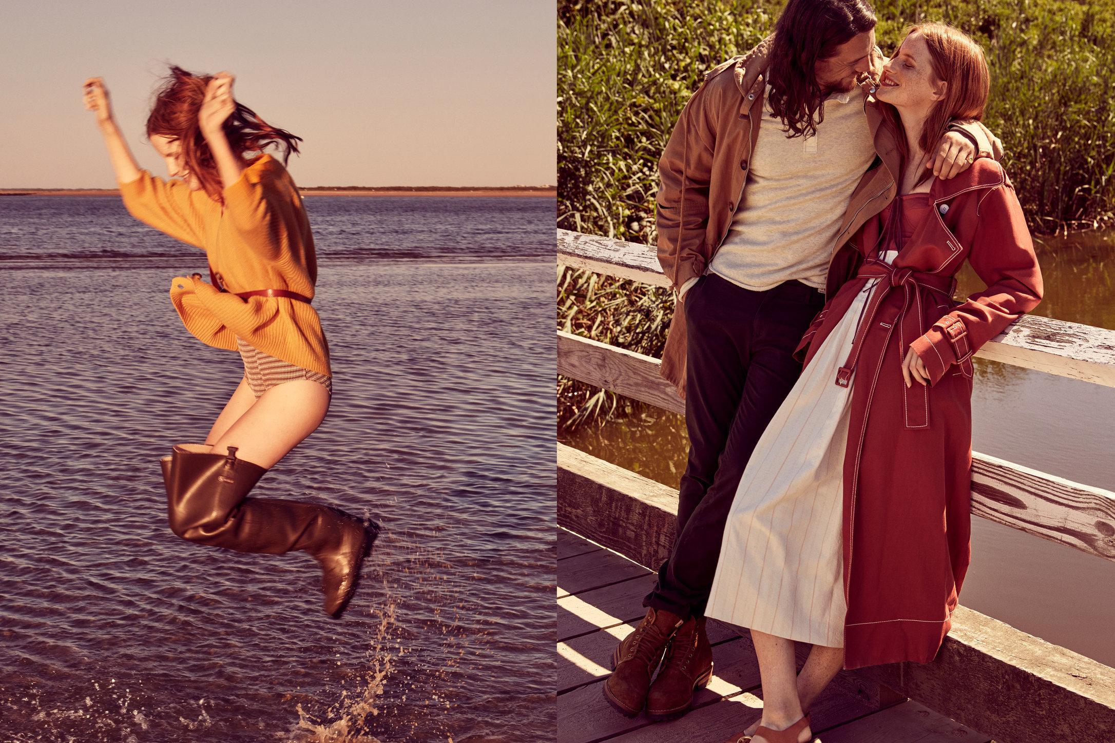 Glamour. Magdalena Jasek and Benjamin Robson. Back to Basics. November, 2016.