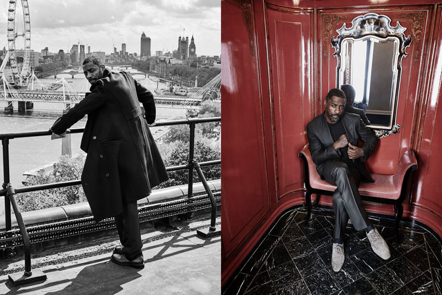 Esquire. Idris Elba. August, 2017.
