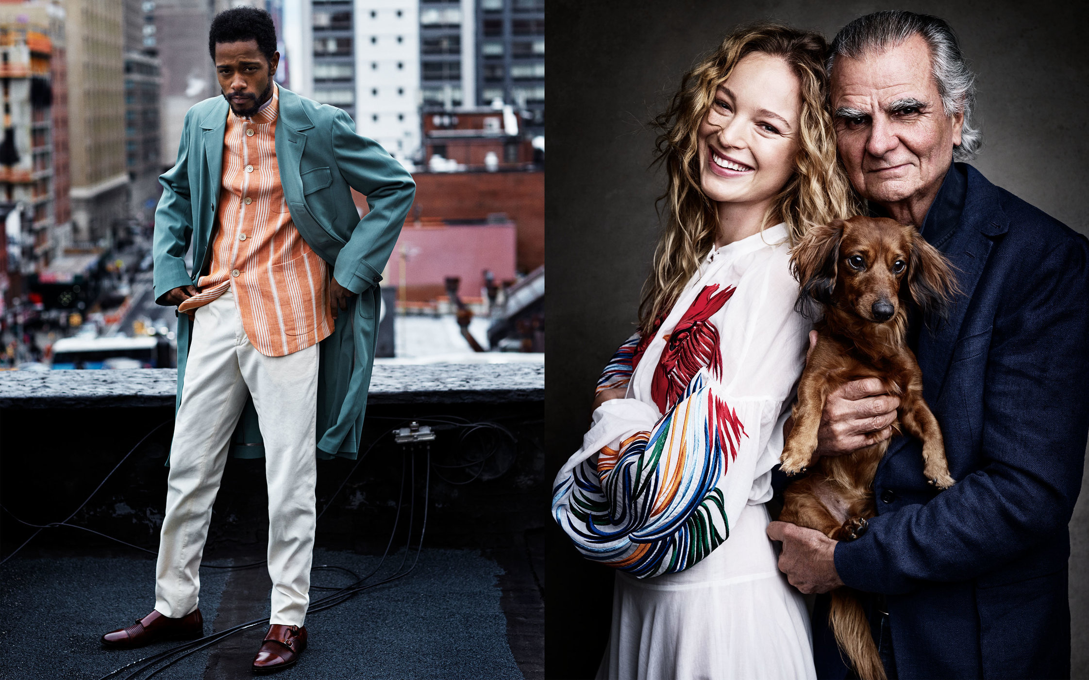 GQ US. Style Portfolio. Keith Stanfield, Louise and Patrick Demarchelier.  March, 2017.