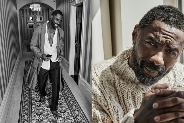 Esquire. Idris Elba. August, 2017.