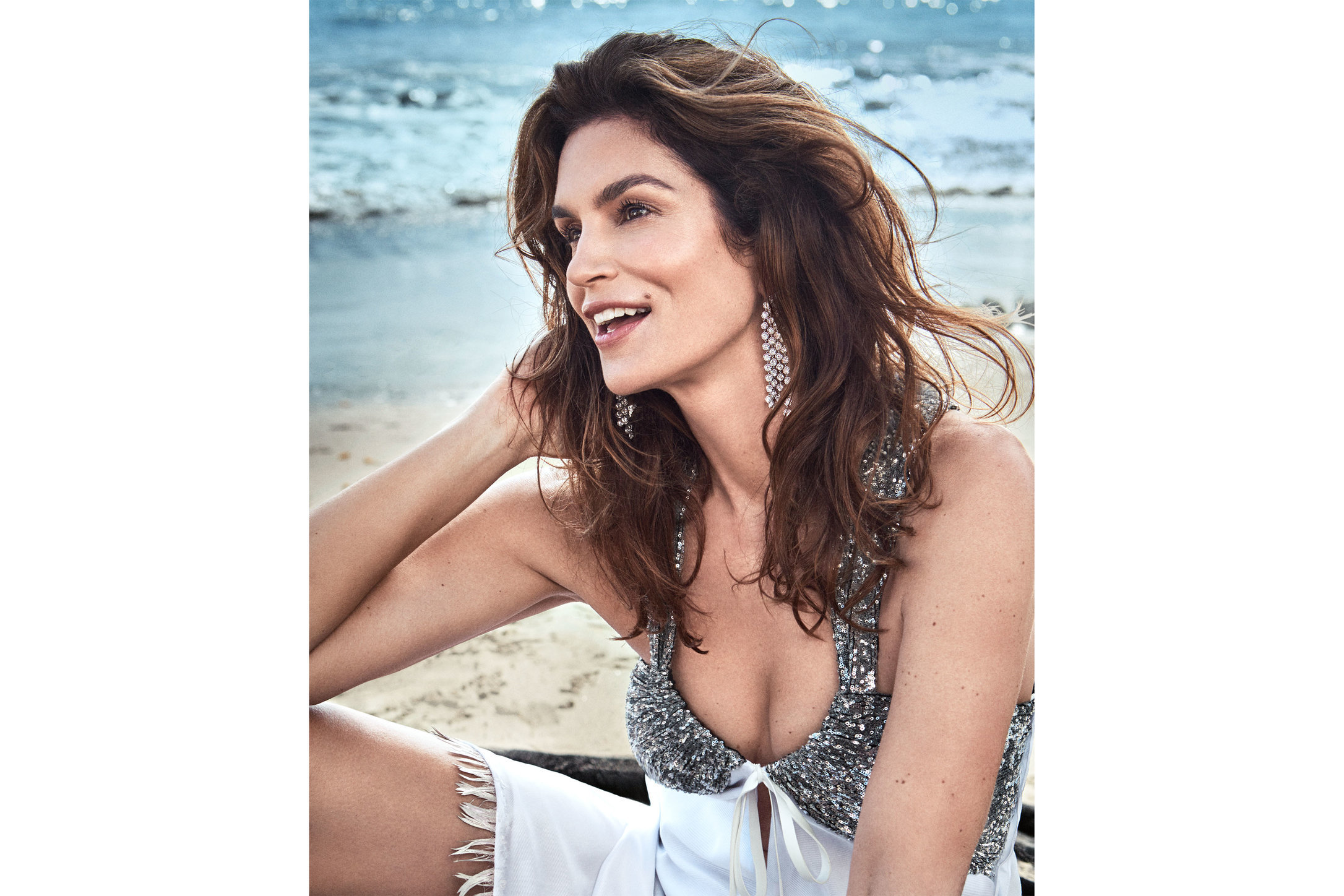 Town and Country. Cindy Crawford. May, 2018.