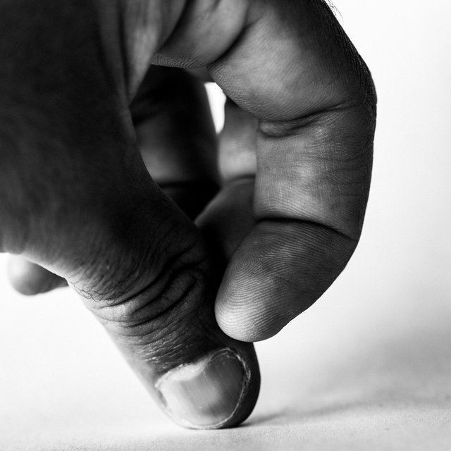Hand Sculptures, 2017. Study #7