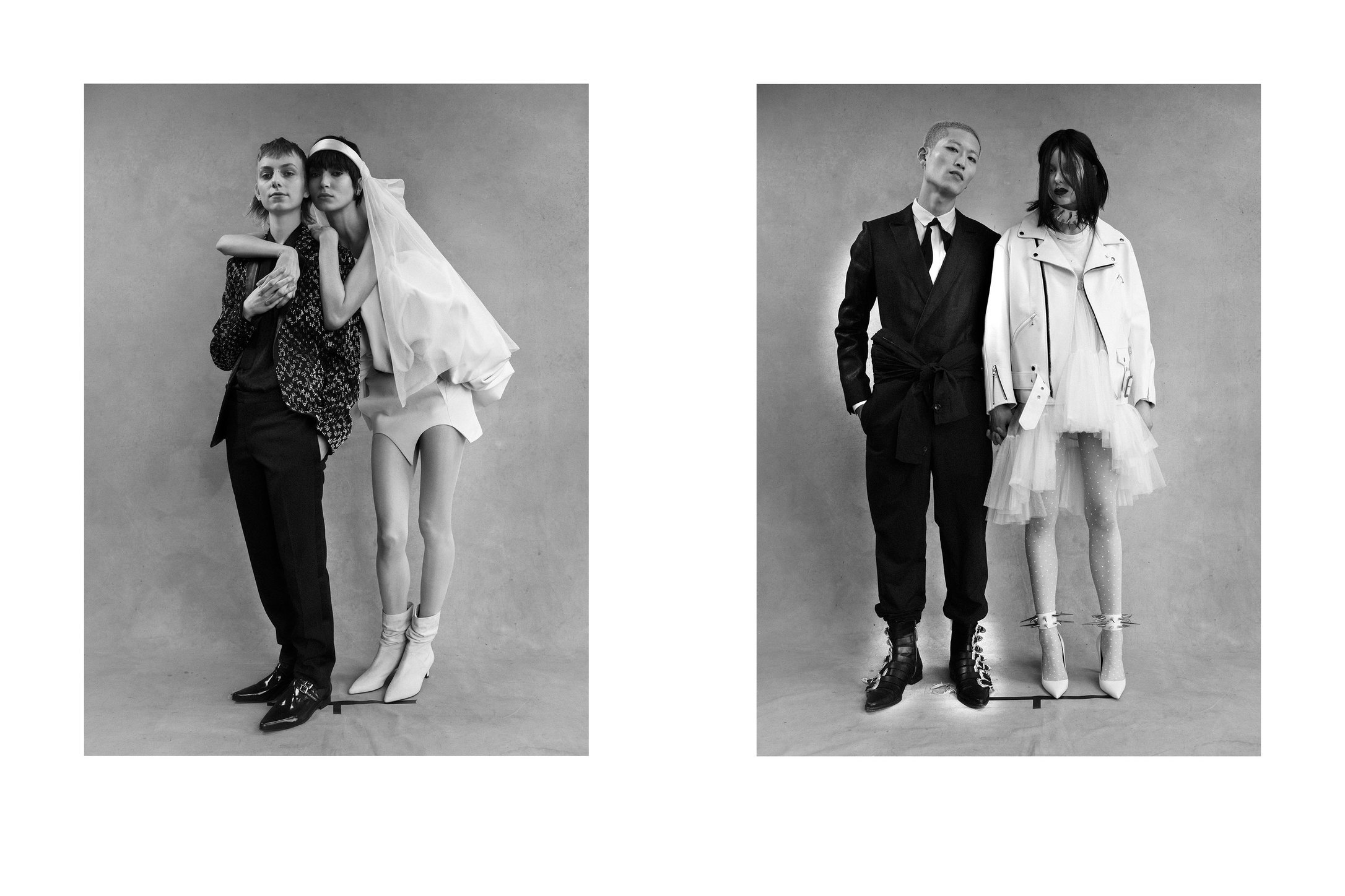 Interview Magazine. White Wedding, April, 2018.