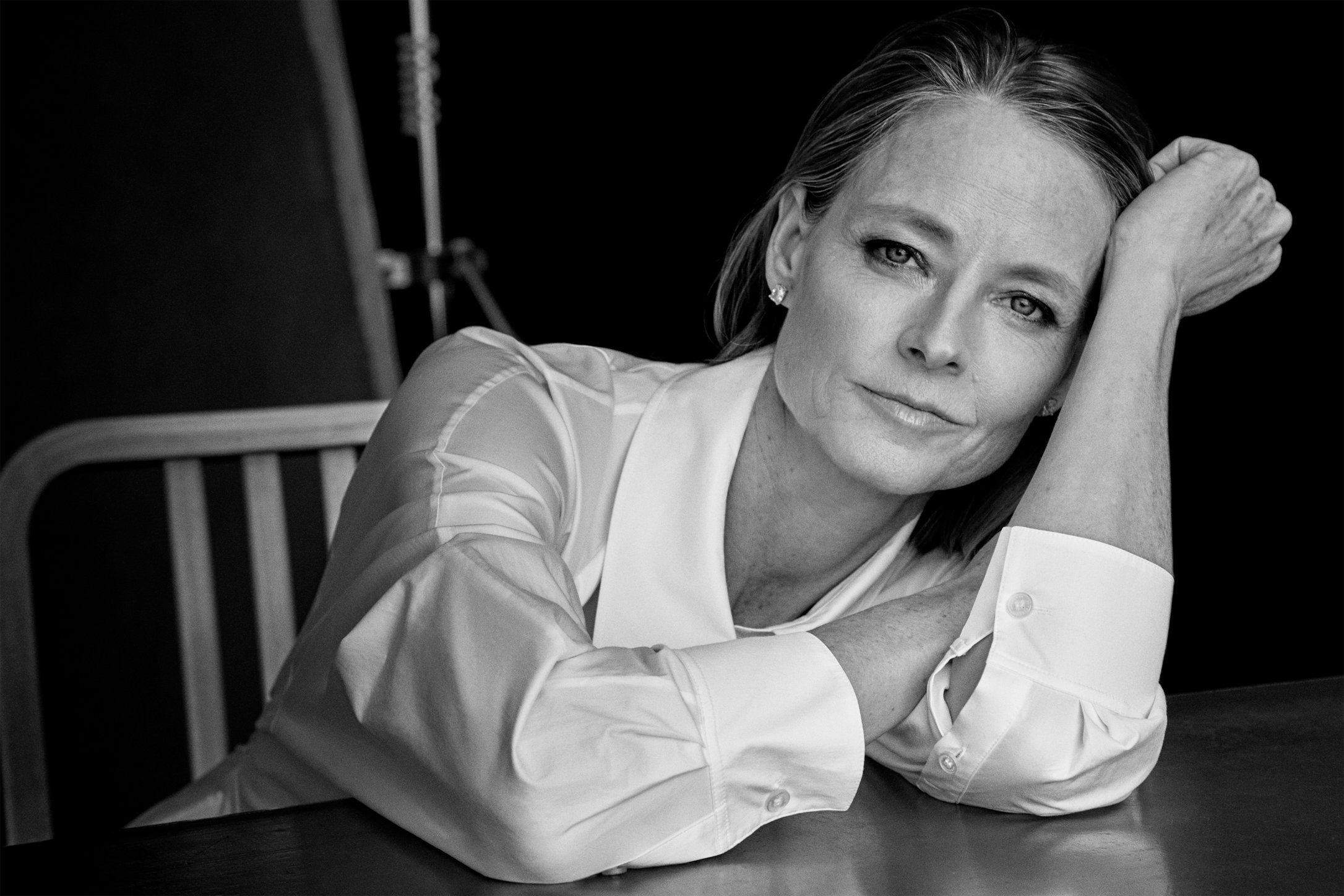 The EDIT/PORTER. Jodie Foster. July, 2018.