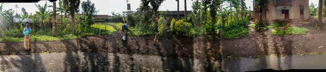 """29°41'21.372""""E  1°28'32.07""""S (RN8, Kinyababa, Rwanda)"""