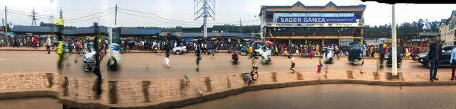 """30°2'48.7""""E  1°56'27.138""""S (RN3, Kigali, Rwanda)"""