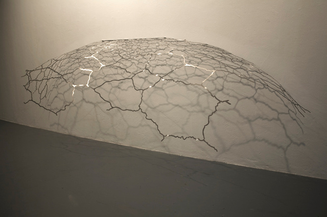 Voronoi drawing