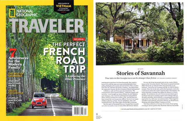 National Geographic Traveler - April 2015