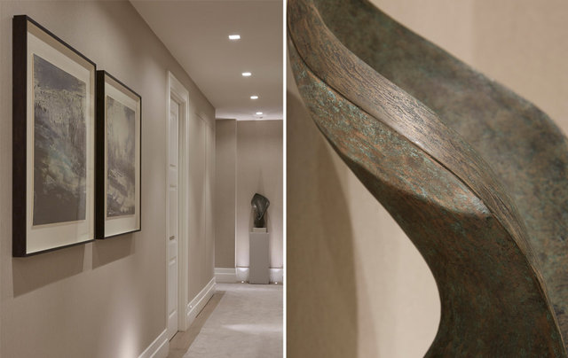 as part of an interior design display in a luxury flat in London -  interior design provided by  Laura Hammett