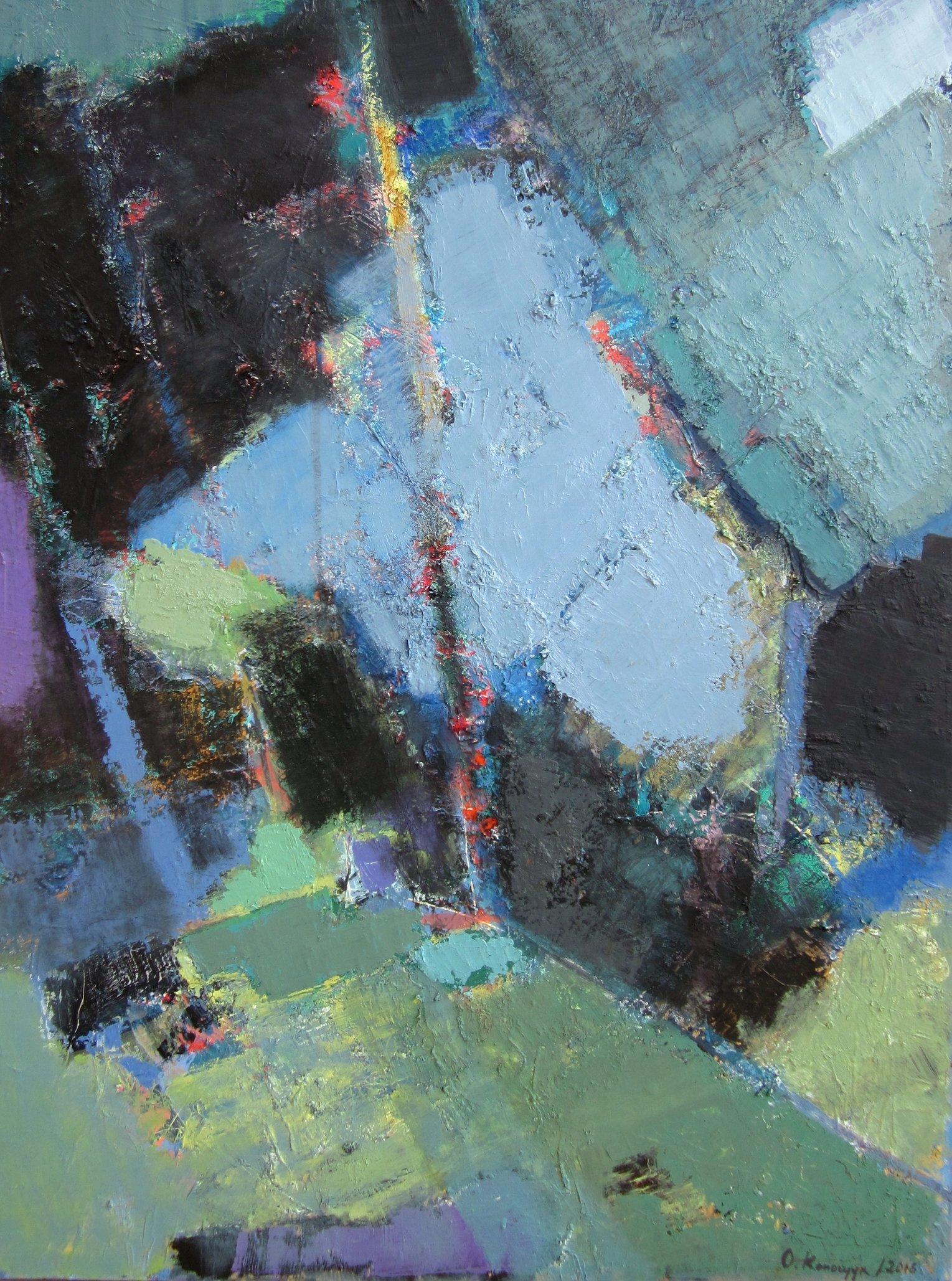 'Garden II' 2016 120X90cm oil on canvas