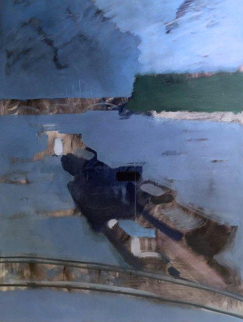 'Cadogan Pier' 2018 / 101x76cm / oil on canvas