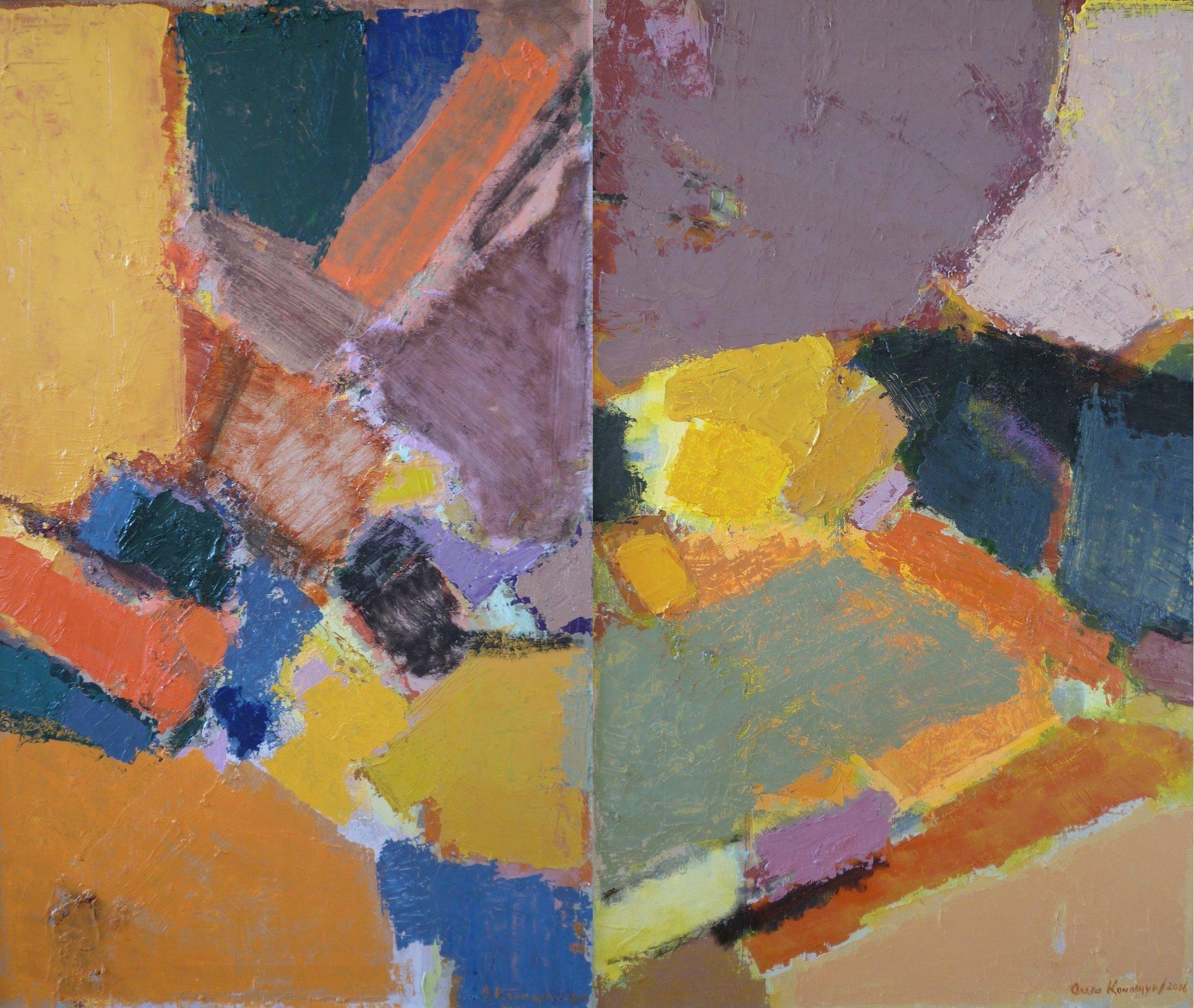 'Formation of the landscape I, II'
