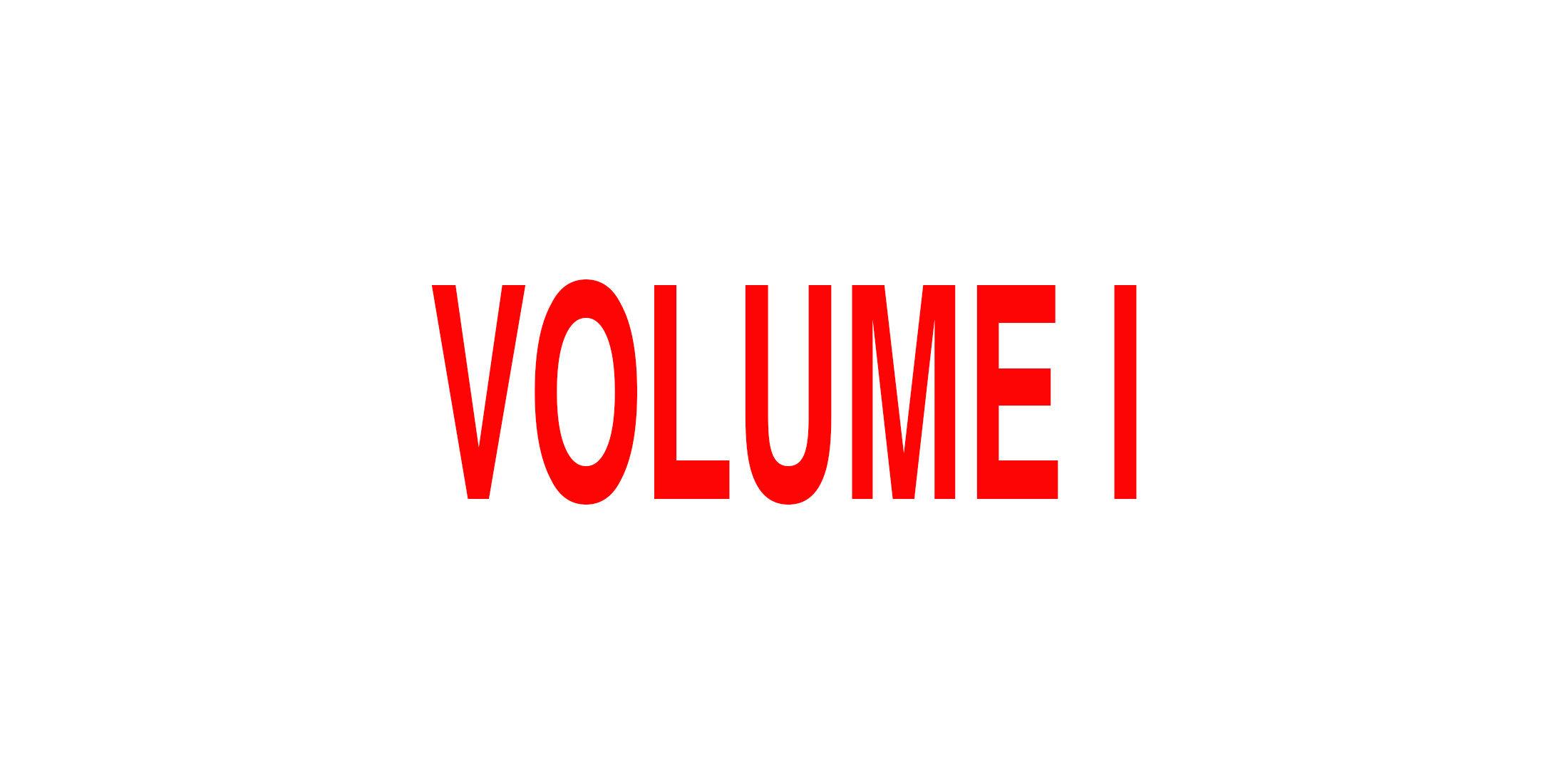 *****NEW Volume I.jpg
