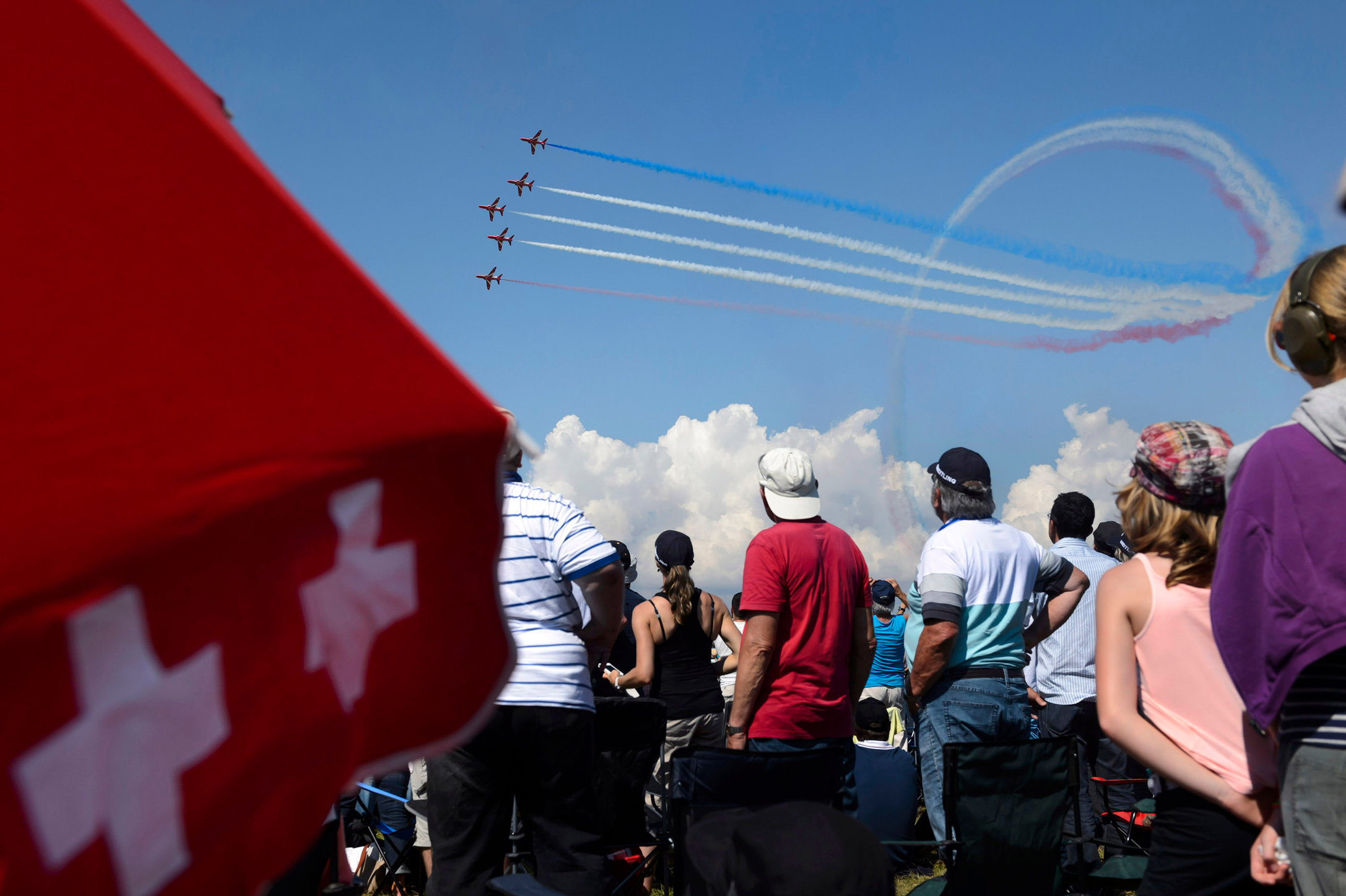 Red Arrows - Air14 - 2014